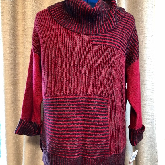 Style & Co Sweaters - Style & Co | Cowl Neck Red Sweater